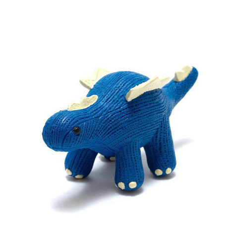 Best Years Ltd My First Natural Rubber Stegosaurus Teether and Bath Toy