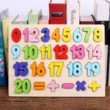 Wooden Lower and Capital Case Movable Alphabet Board Preschool Educational Learning Toys