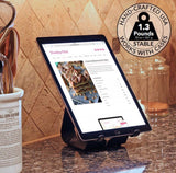 Small iPad & Tablet Stand Black