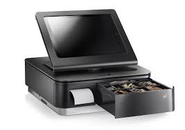 Star mPOP : Combined Bluetooth POS Receipt Printer and Cash Drawer Black without Scanner iOS Compatible