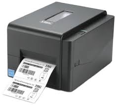 Black TE300 TSC Desktop Barcode Printer