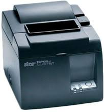 STAR TSP143LAN Black Thermal Network Printer from STAR - iOS Compatible