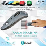 Socket Mobile S700 Bluetooth Scanner Red 1D