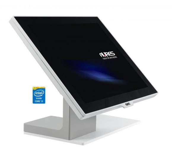 Aures Yuno i5 Point Of Sale Touch Machine White Color
