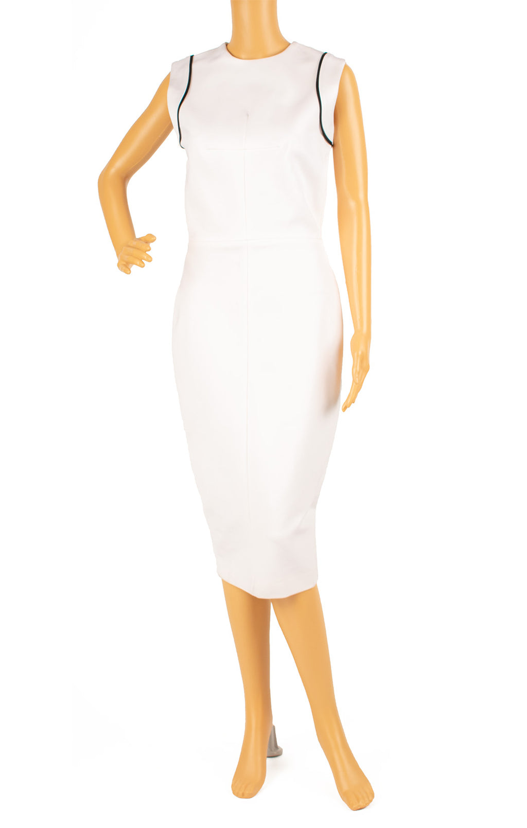 Front view of VICTORIA BECKHAM with tags Dress Size: 8