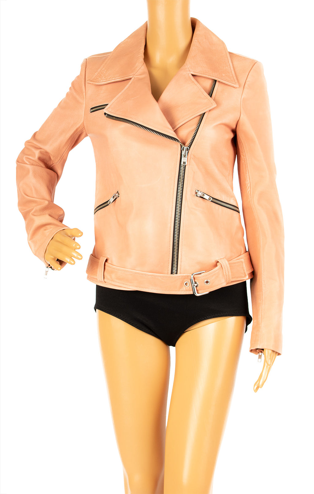 Front view of ALC with tags Leather jacket Size: 4