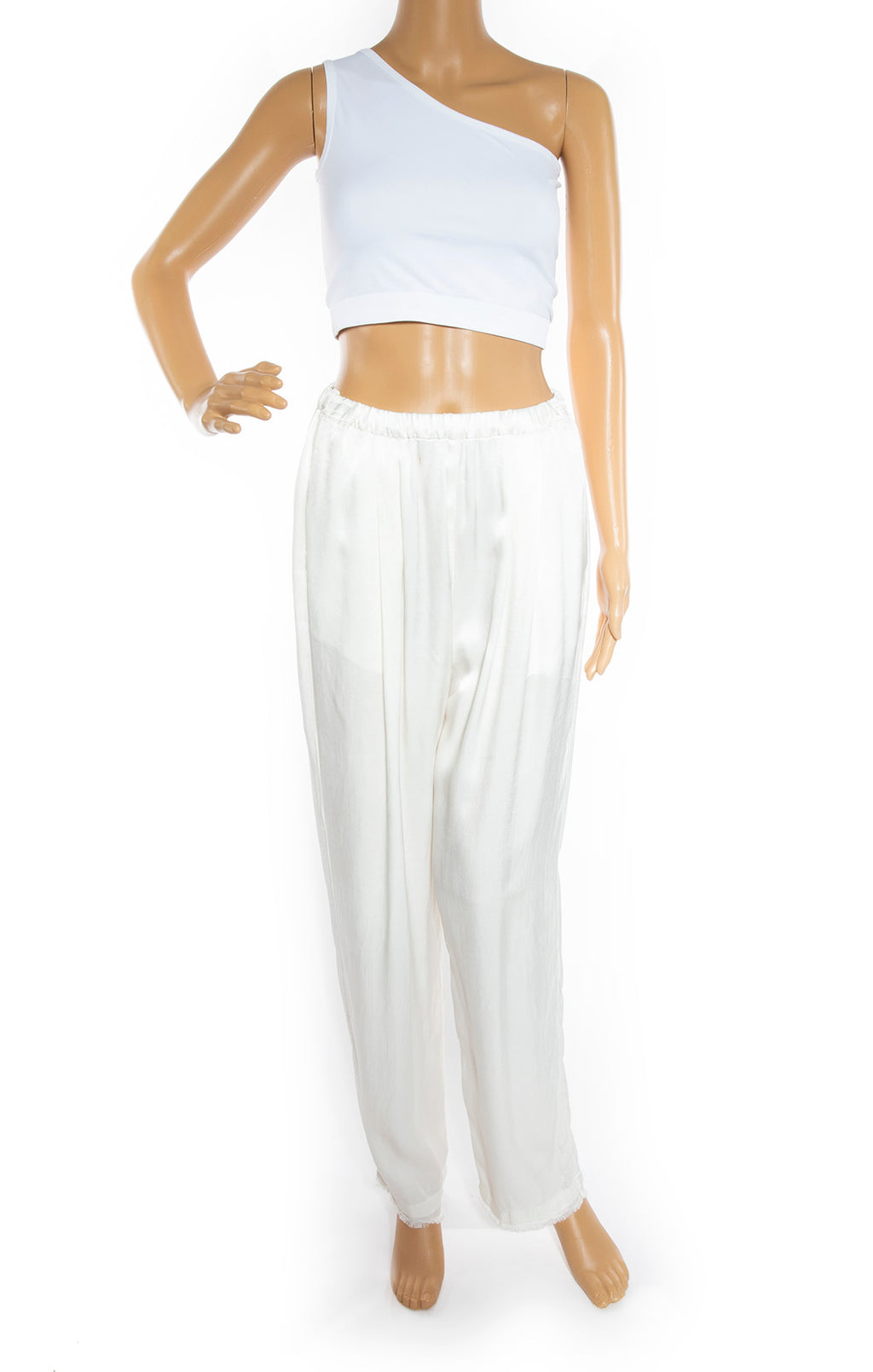 Front view of RAQUEL ALLEGRA Pants Size: Medium