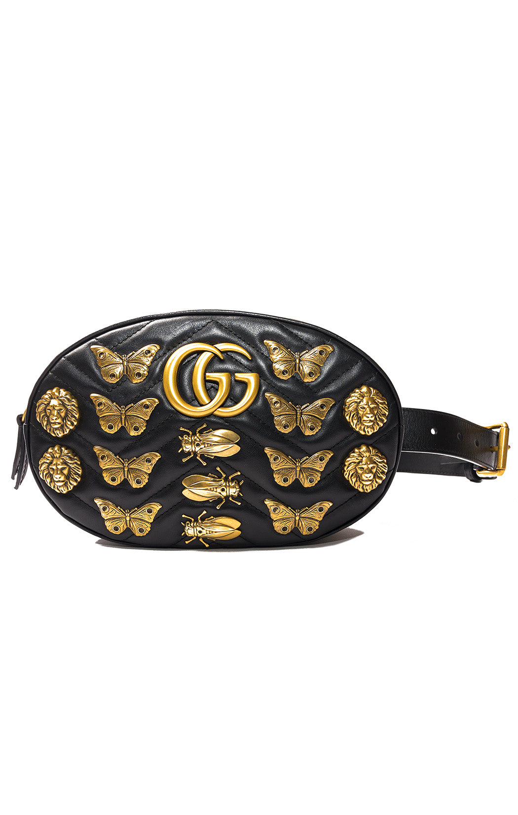 "Front view of GUCCI  Fanny pack / purse Size: 9x W x 6"" H x 2"" D"