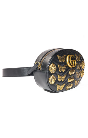 Side view of GUCCI  Fanny pack / purse