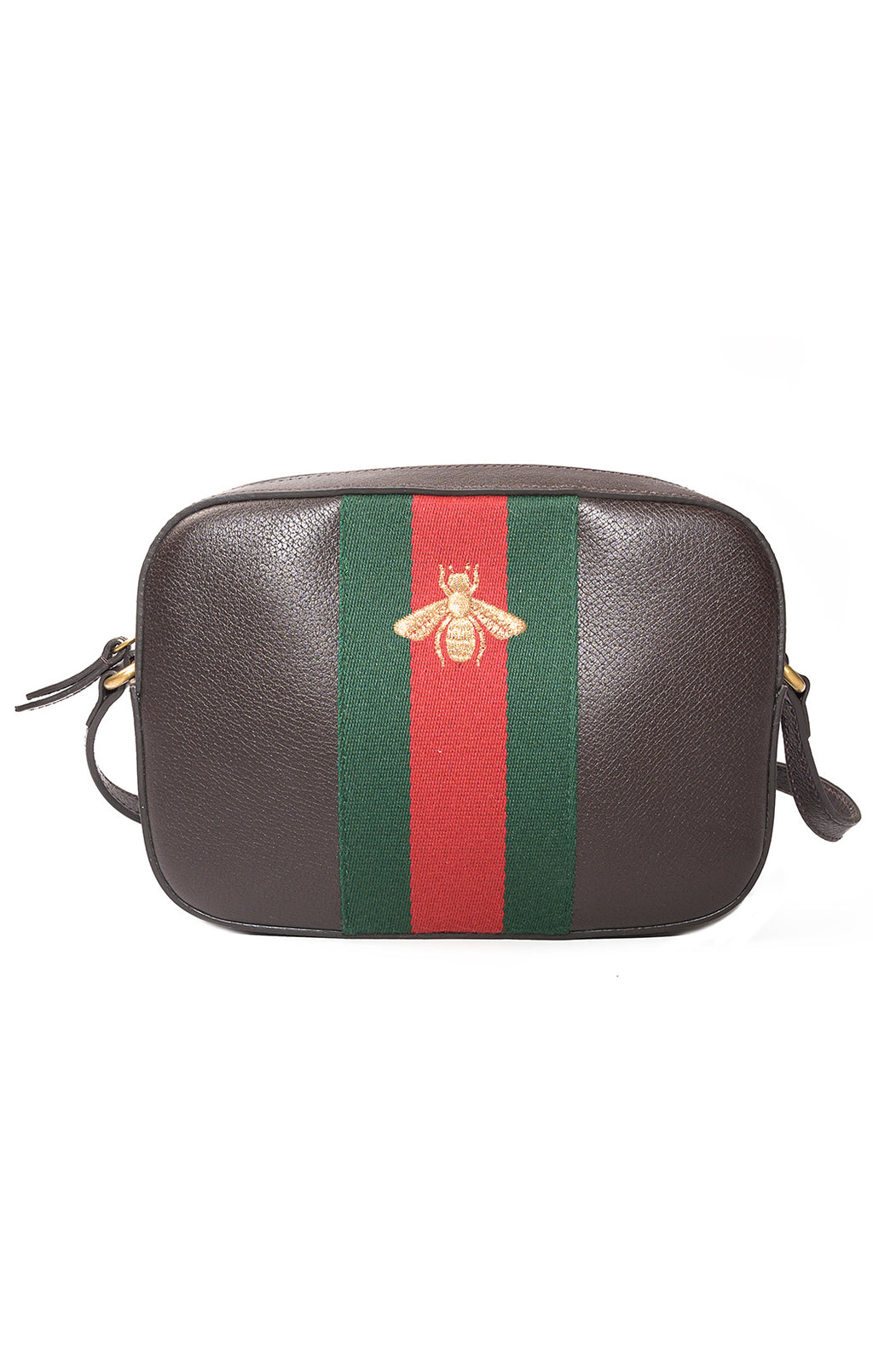 "Front view of GUCCI  Purse Size: 9"" W x 6.25"" H x 2.25"" D"