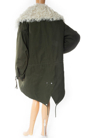 Front view of BALENCIAGA Oversized Jacket with Tags