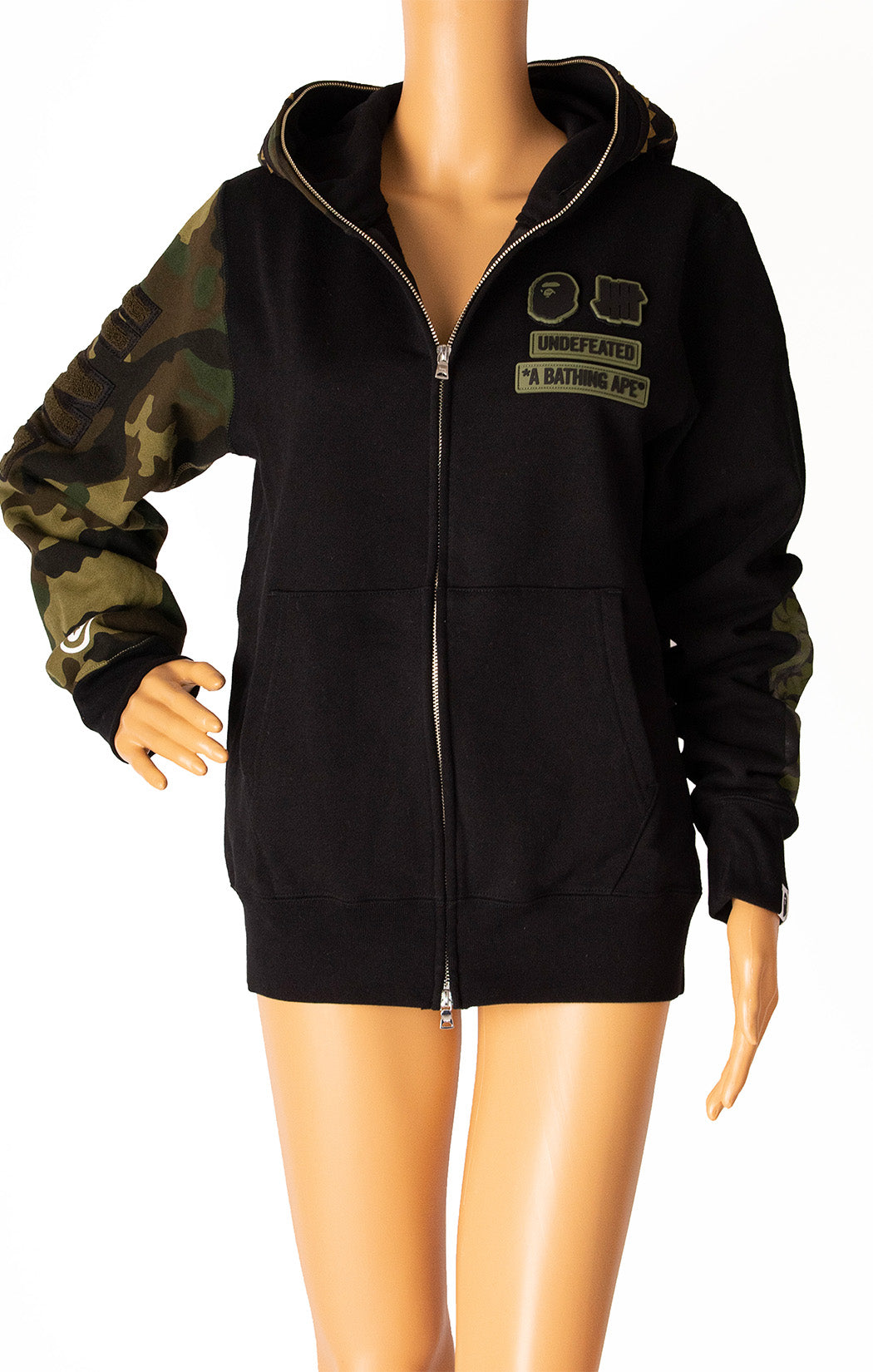 Front view of A BATHING APE with tags Sweatshirt Size: Medium