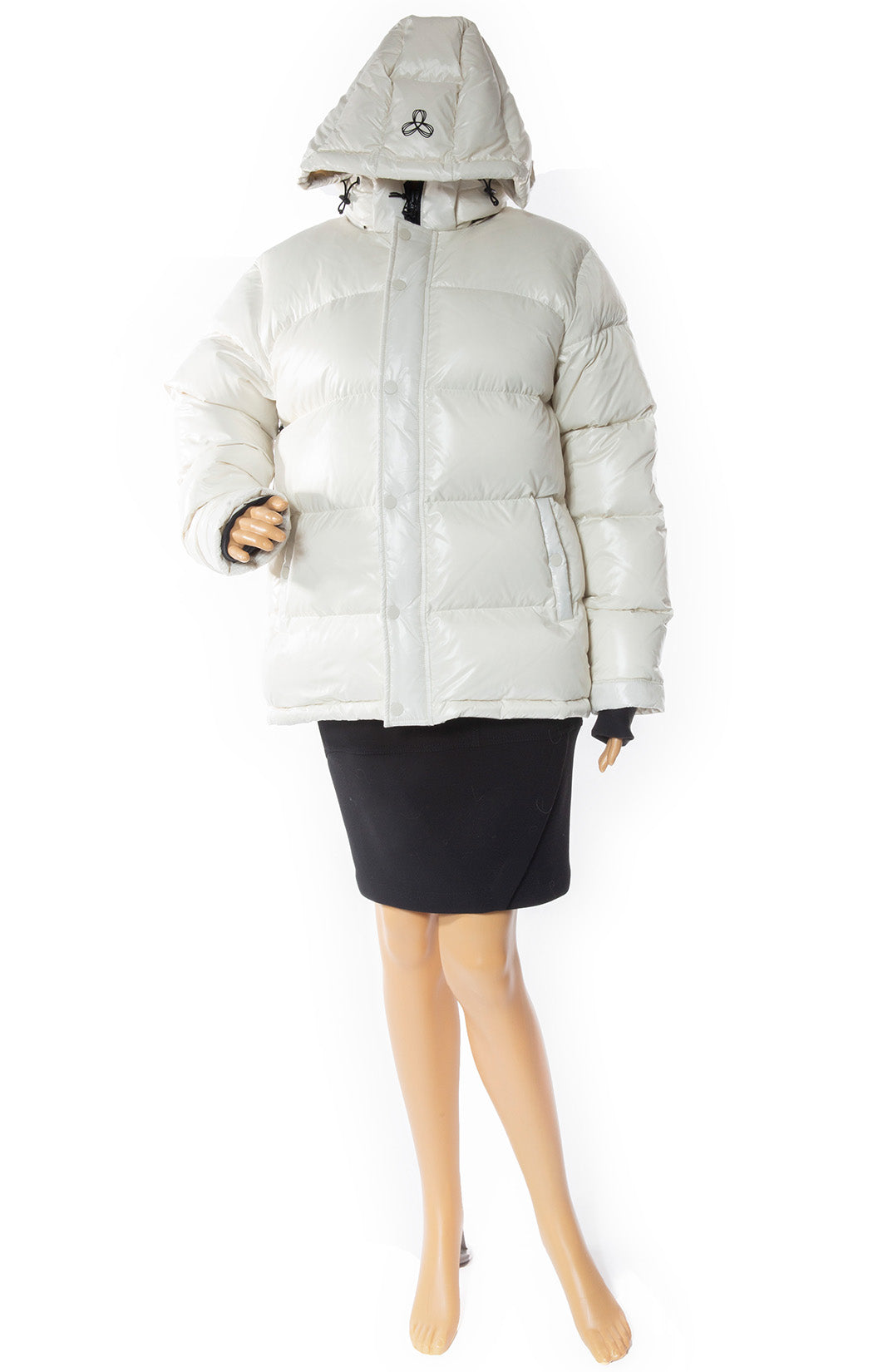 Front view of TNA Puffer Jacket with Tags Size: Small