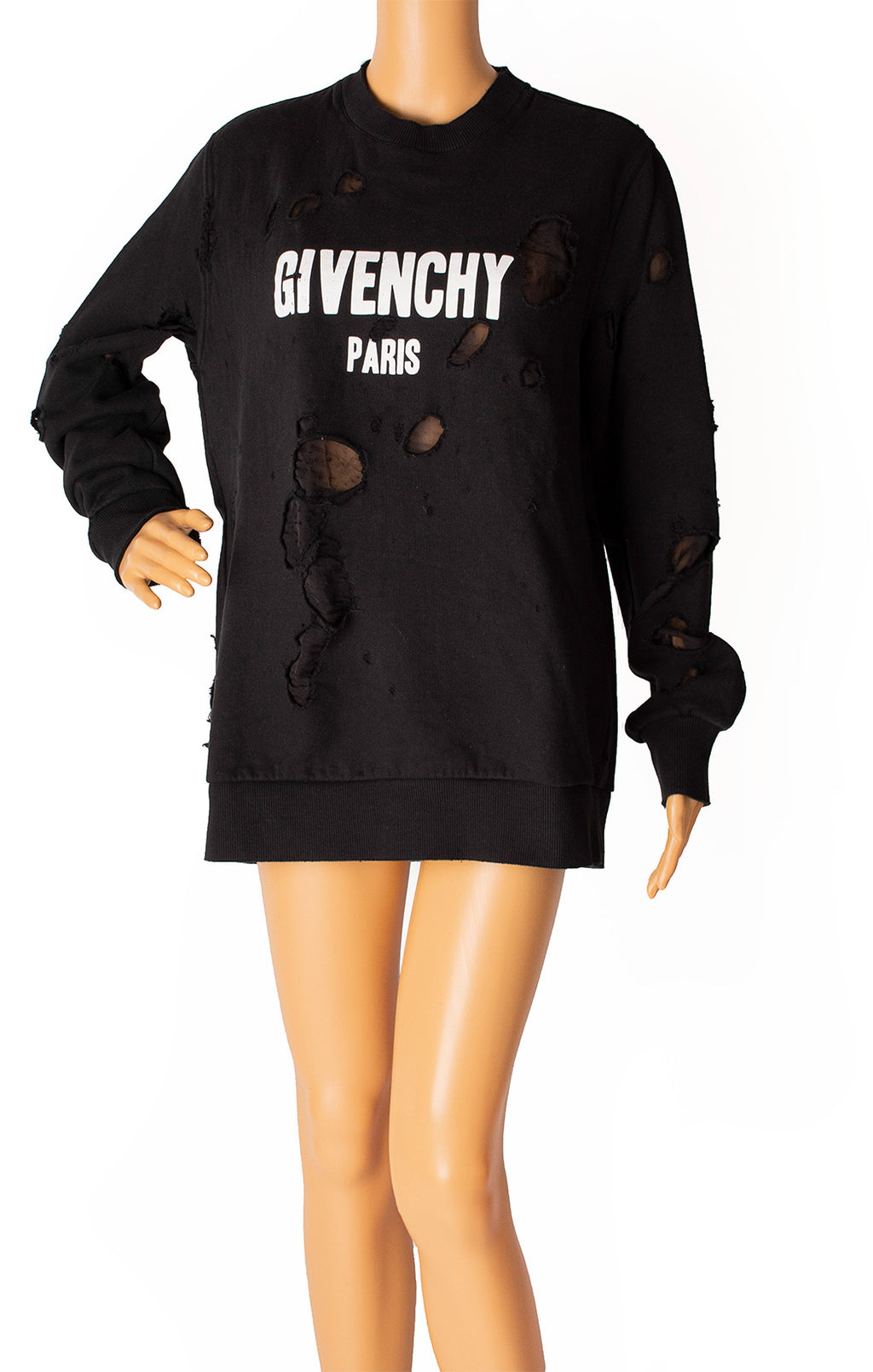 Front view of GIVENCHY Sweatshirt Size: Small