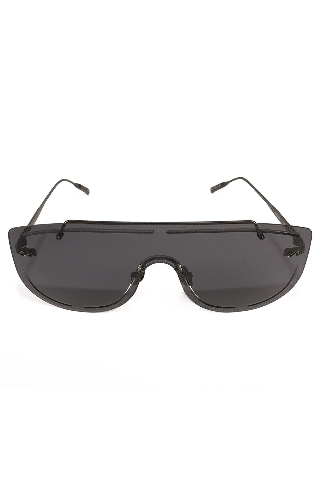 "Front view of AMAVII Sunglasses Size: W-6"" x H-2.25"""