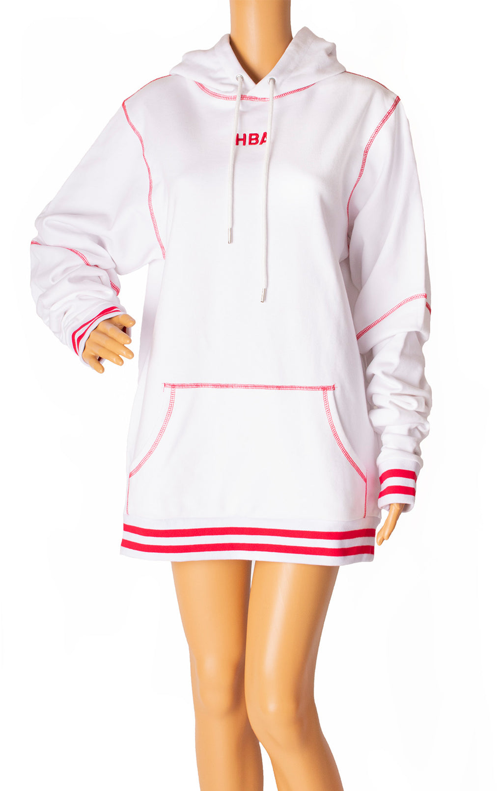 Front view of HOOD BY AIR Sweatshirt Size: Medium