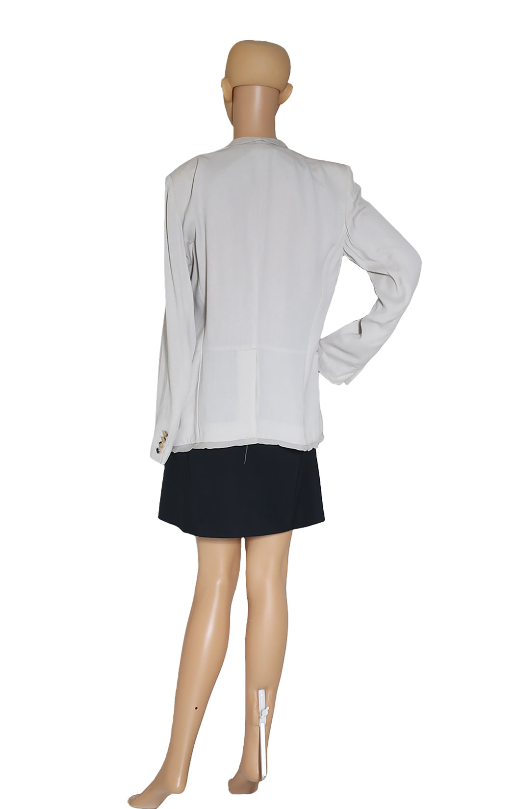Back view of HELMUT LANG Silk Blaze