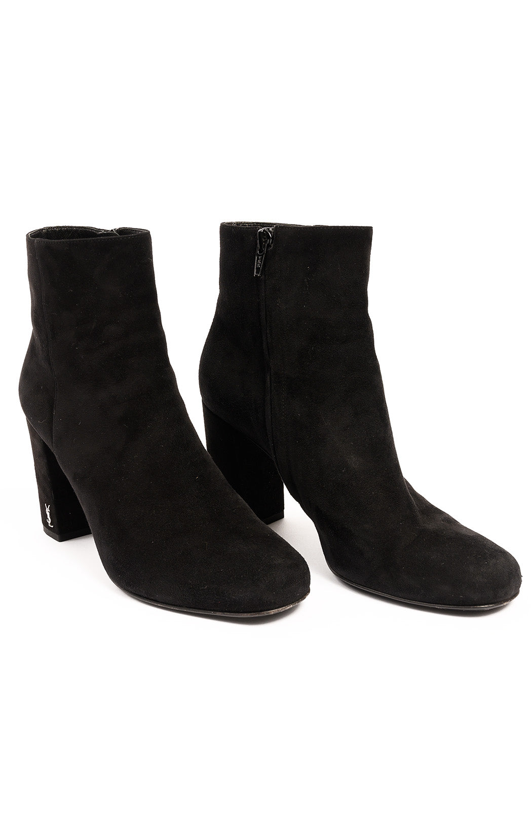 Front view of SAINT LAURENT  Boots Size: 7.5