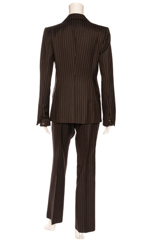 GUCCI Pantsuit  Size: Jacket IT 42 (comparable to US 4-6) Pants IT 44 (comparable to US 6-8)