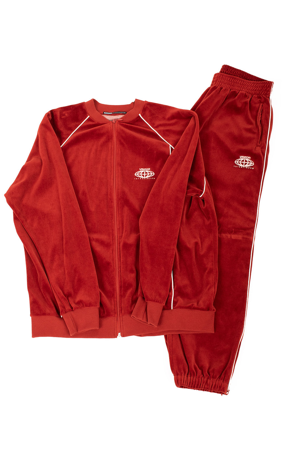 Front view of VISITOR Track suit Size: 2XL