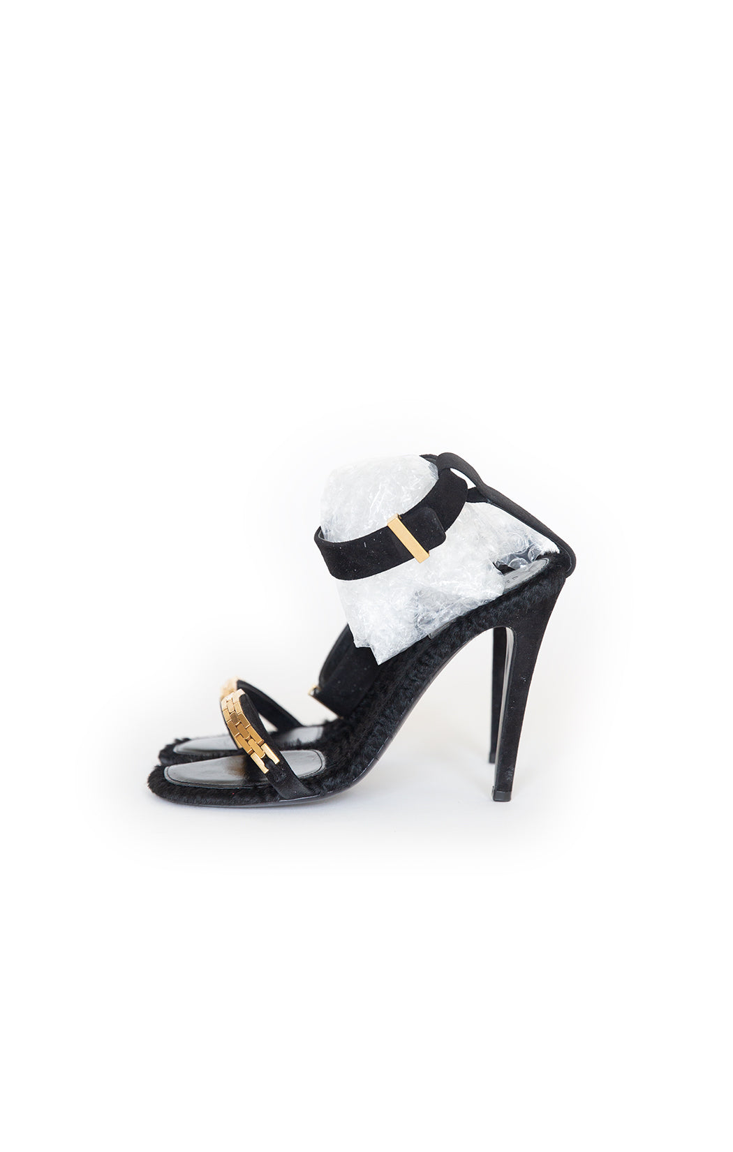 Side view of CELINE High Heeled Sandal Size: US 7