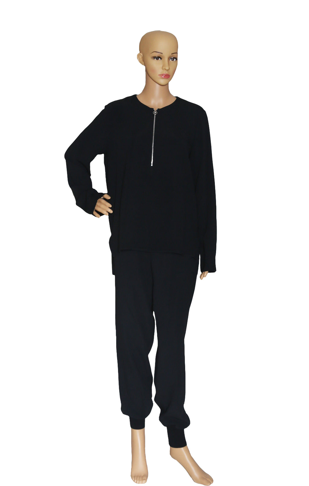 Front view of STELLA McCARTNEY  Tunic and Matching Pant Size: IT 42 (US 8)