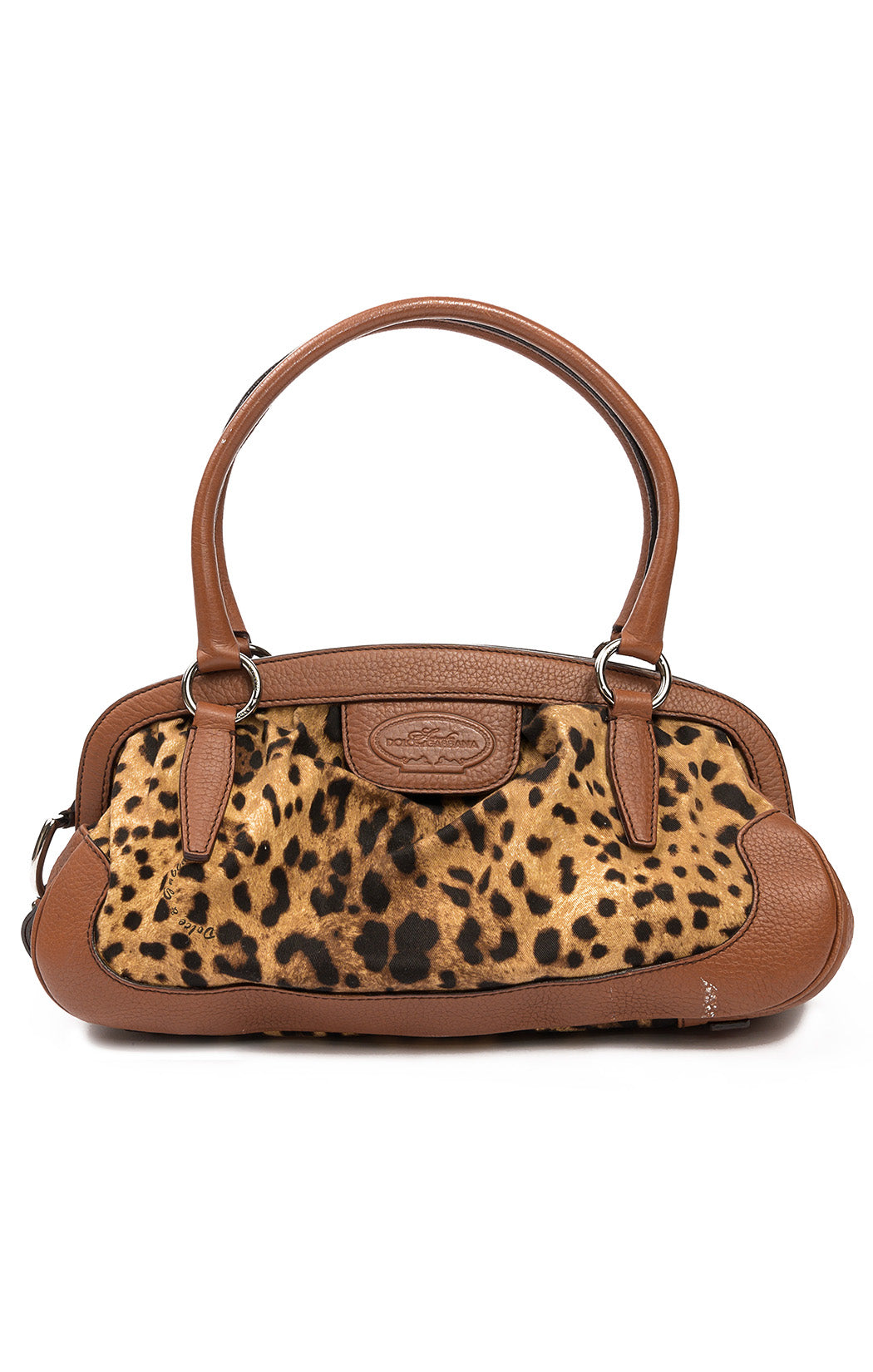 "Front view of DOLCE & GABBANA Purse Size: 16"" L x 8"" H x 6"" D"