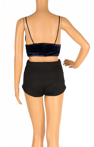 Back view of ALEXANDER WANG with tags Bra top