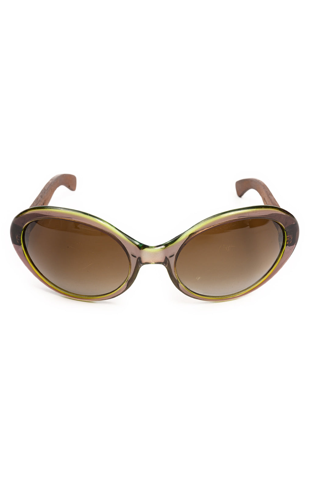 "Front view of MARNI Sunglasses Size: 6"" W x 2"" H"