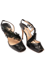 MANOLO BLAHNIK  Shoes Size: 39/9