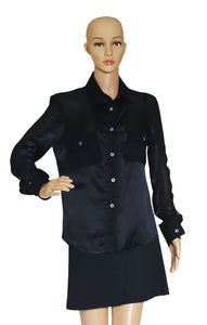 Closeup view of STELLA McCARTNEY  Blouse Size: IT 42 (US 8)