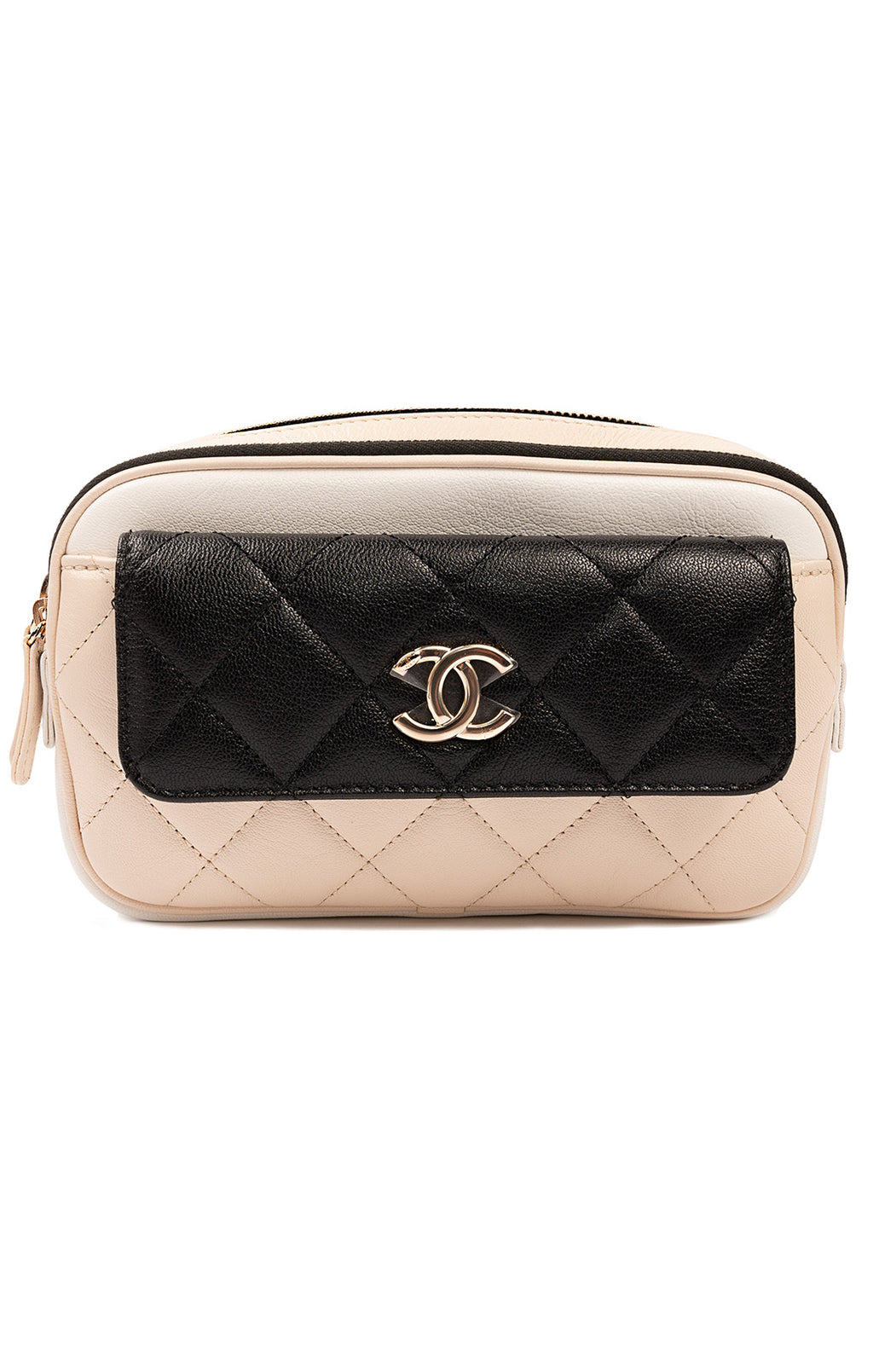 "CHANEL with tags Waist bag Size: 4.5"" H x 2.5"" W x 2.5"" D"