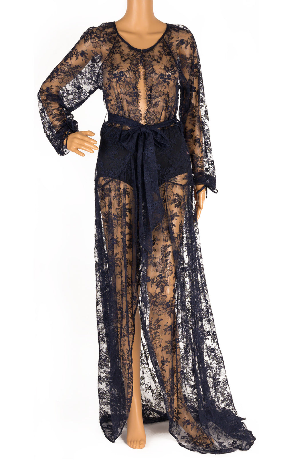 Front view of AGENT PROVOCATEUR with tags Robe Size: Medium