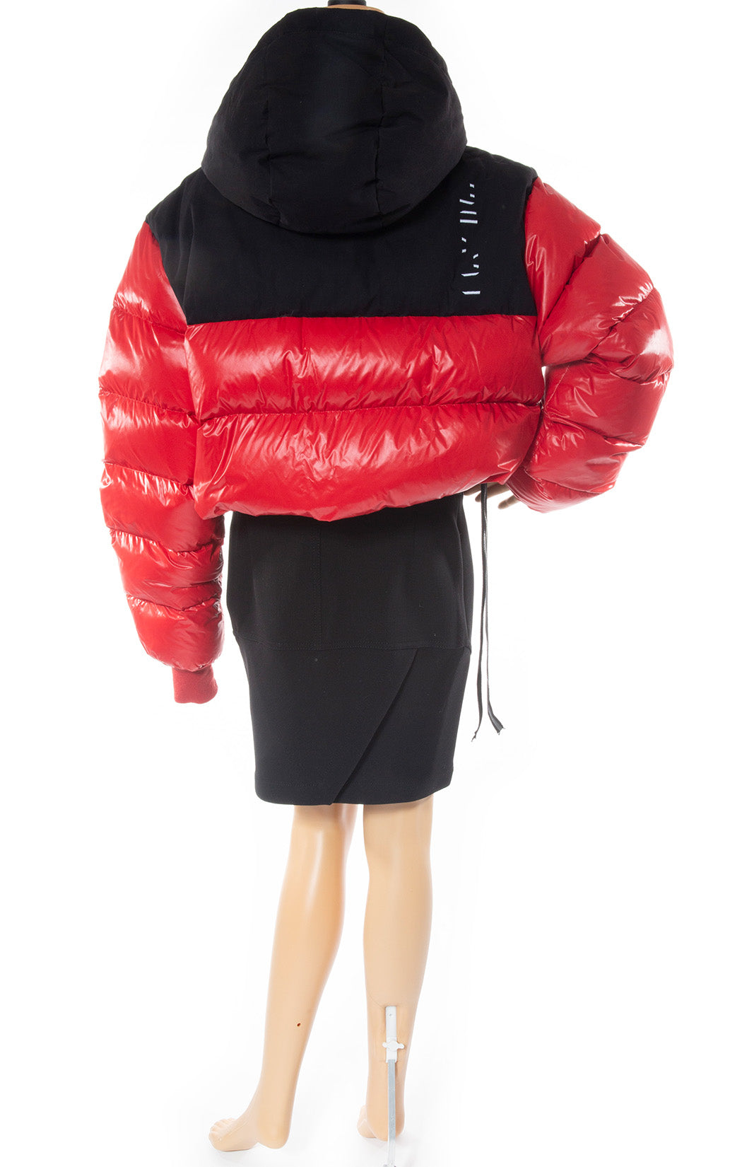 Back view of UNRAVEL Puffer jacket