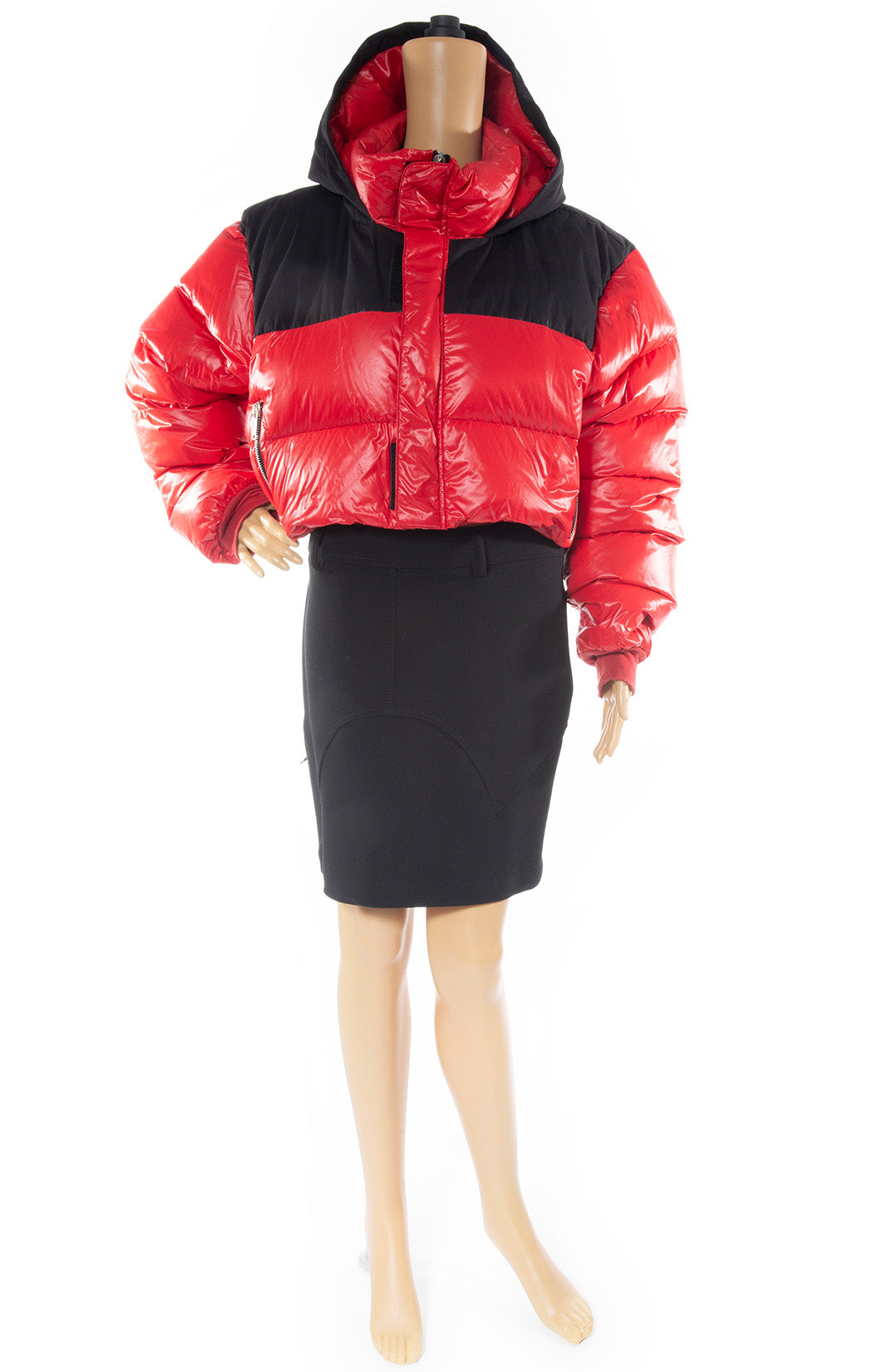Front view of UNRAVEL Puffer jacket Size: 36 FR (comparable to US size 4)