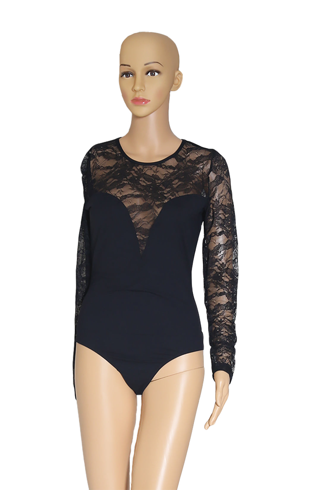 Closeup view of ANTI-FLIRT  Bodysuit  Size: 3 (comparable to US 10)