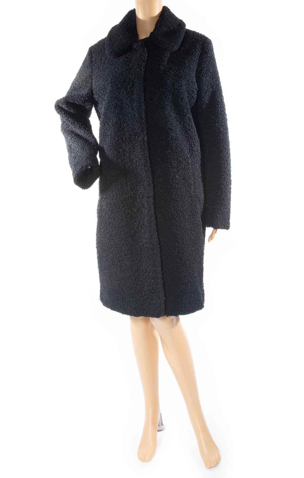 Front view of ZOE KARSSEN Coat Size: Medium
