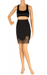 Front view of ROBERT RODRIGUEZ with tags Skirt Size: 8