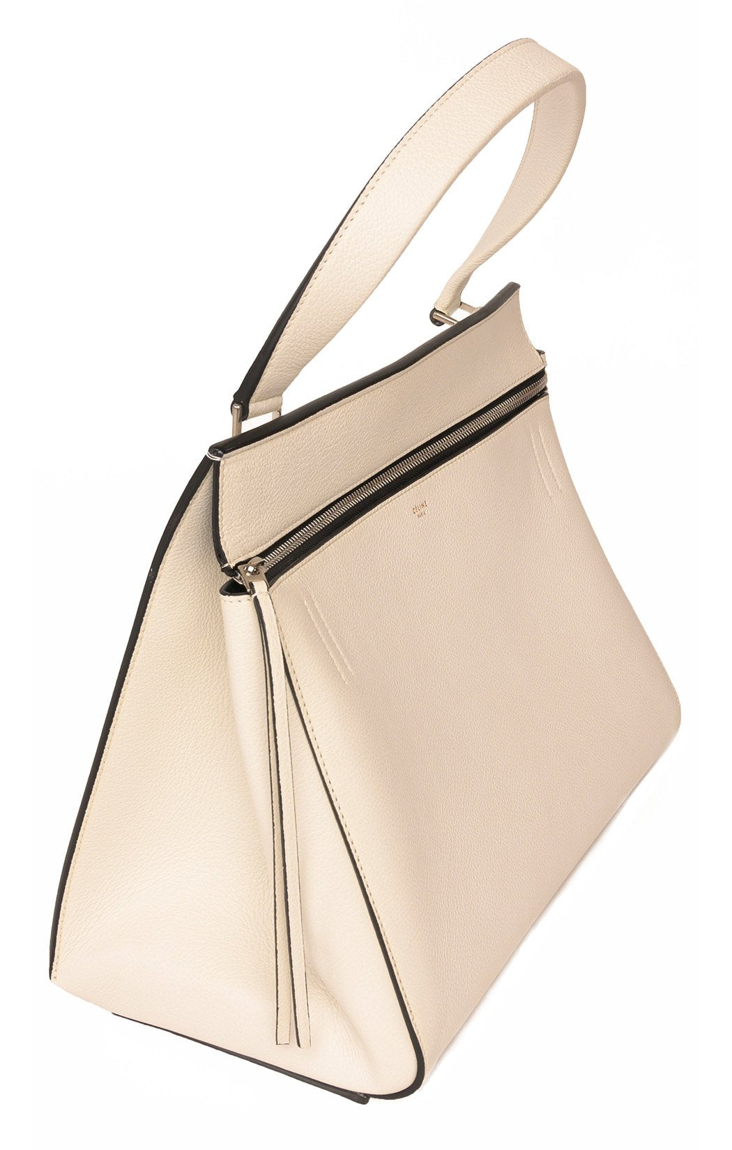 Side view of CELINE with tags Handbag
