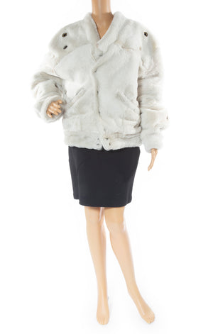 Front view of VEJAS Shearling jacket