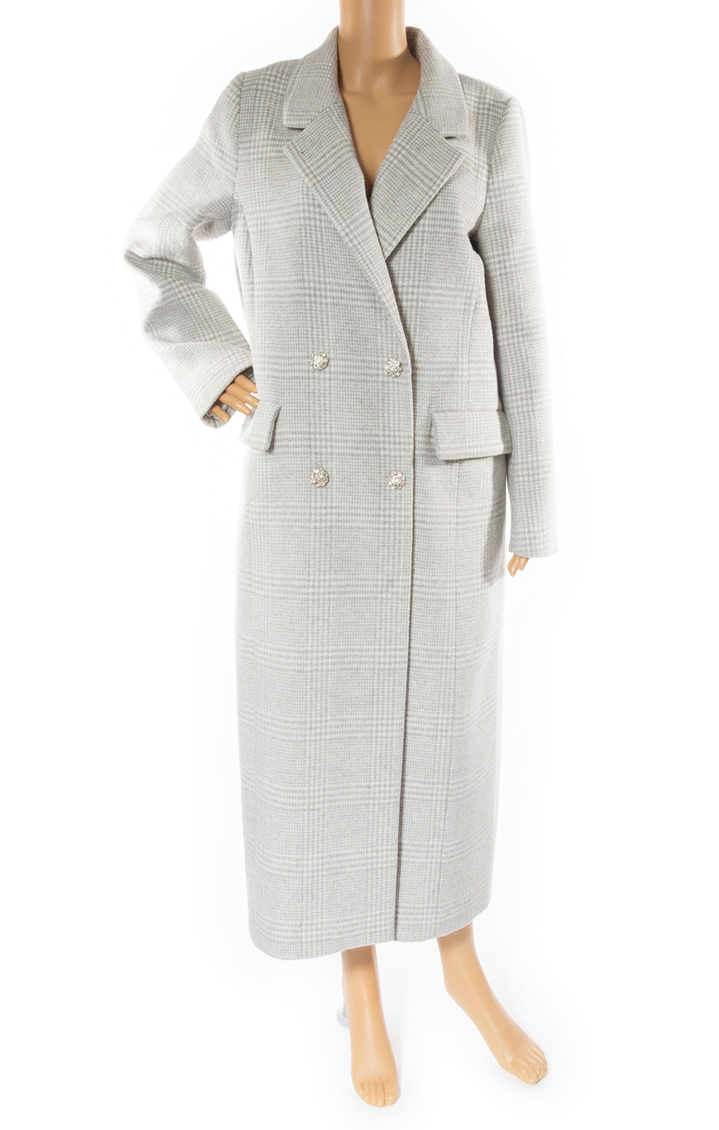 Front view of GANNI Coat Size: No tags fits like 6-8
