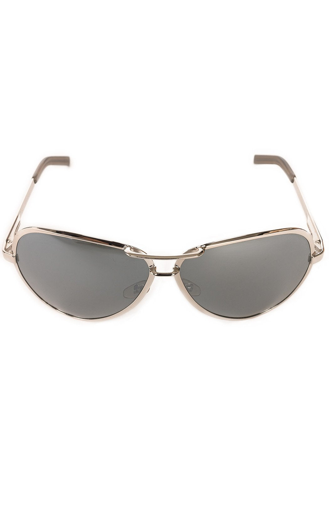 "Front view of GUCCI Sunglasses Size: 6"" W x 2.5"" H"
