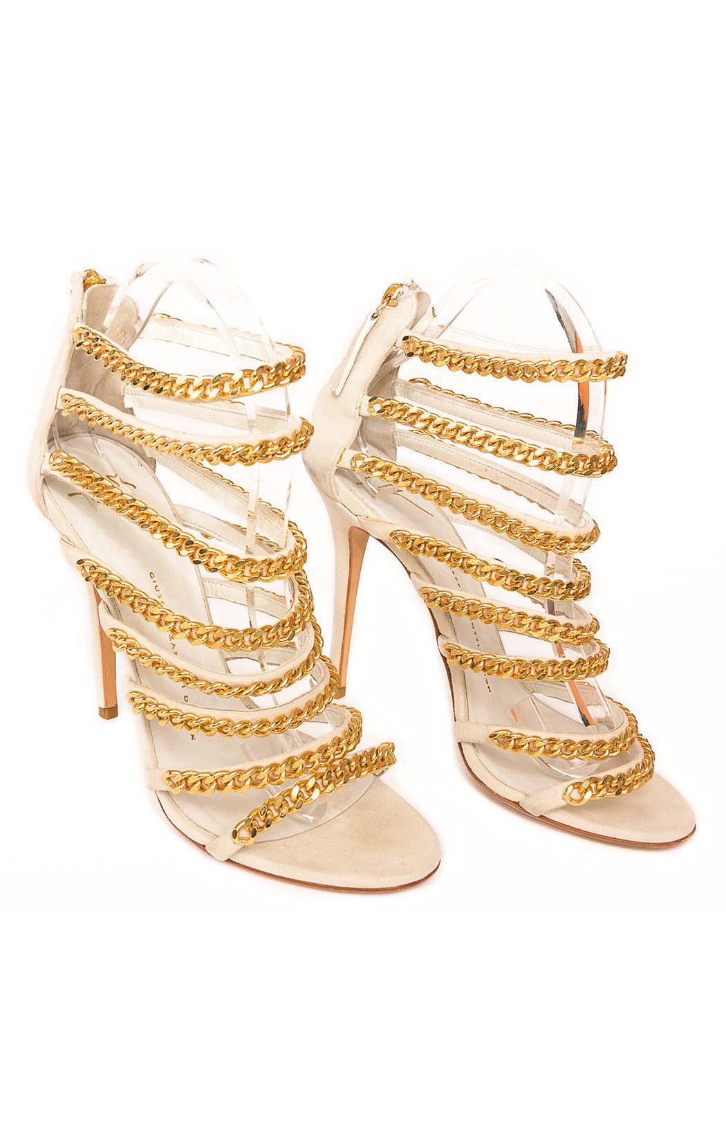 Front view of GIUSEPPE ZANOTTI  Sandals Size: 39 / 9
