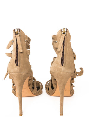 Back view of GIUSEPPE ZANOTTI  Sandals