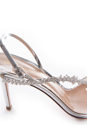 Closeup side view of GIANVITTO ROSSI  Sandal