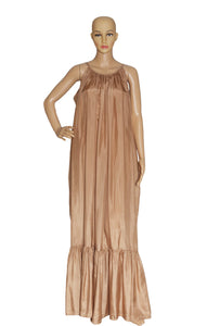 Front view of KALITA Long Dress with Tags Size: One size