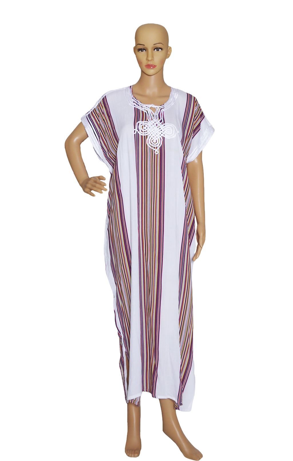 Front view of NO NAME  Long Caftan Size: One size