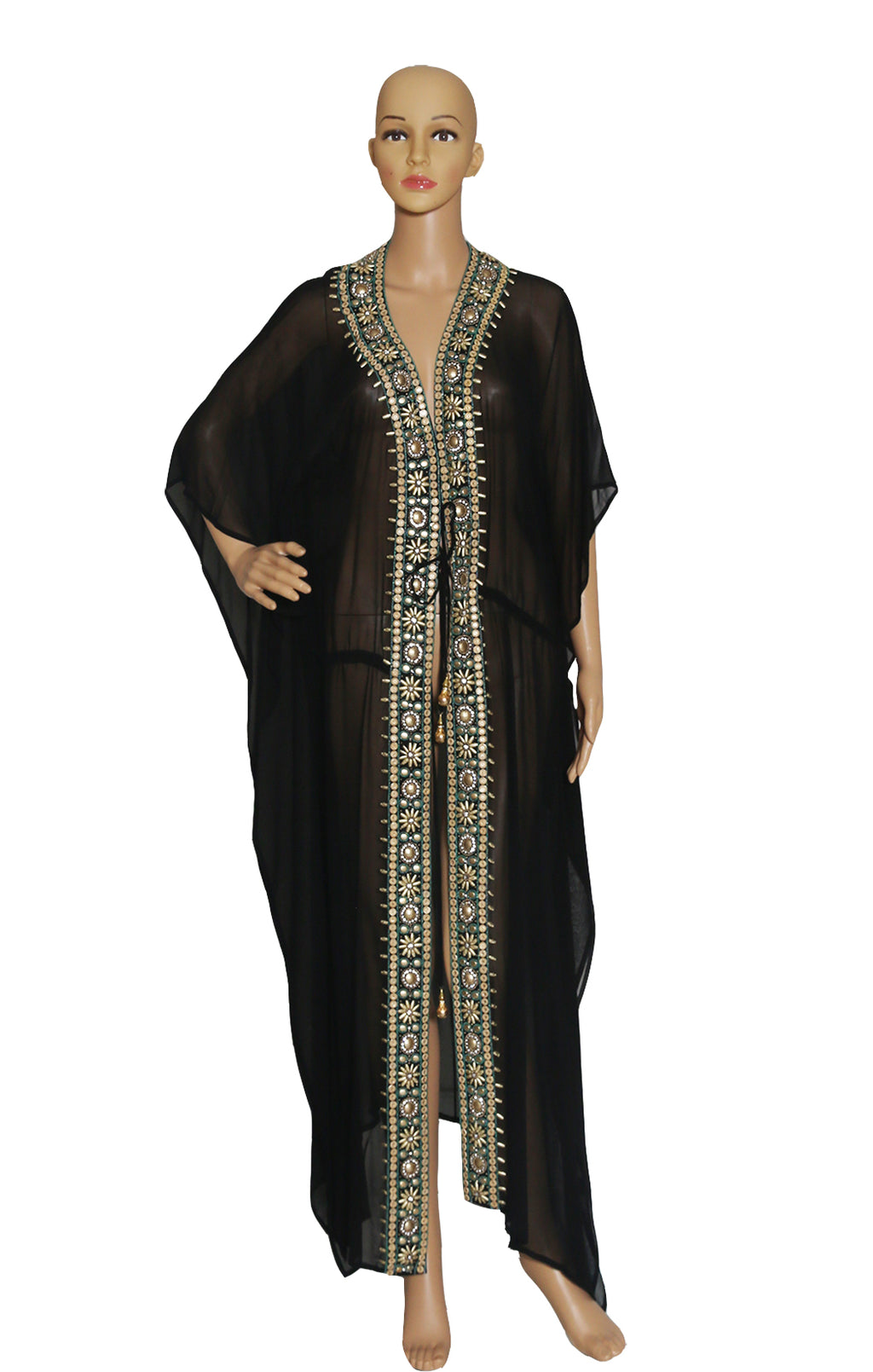 Front view of FASHION NOVA Caftan with Tags Size: One size