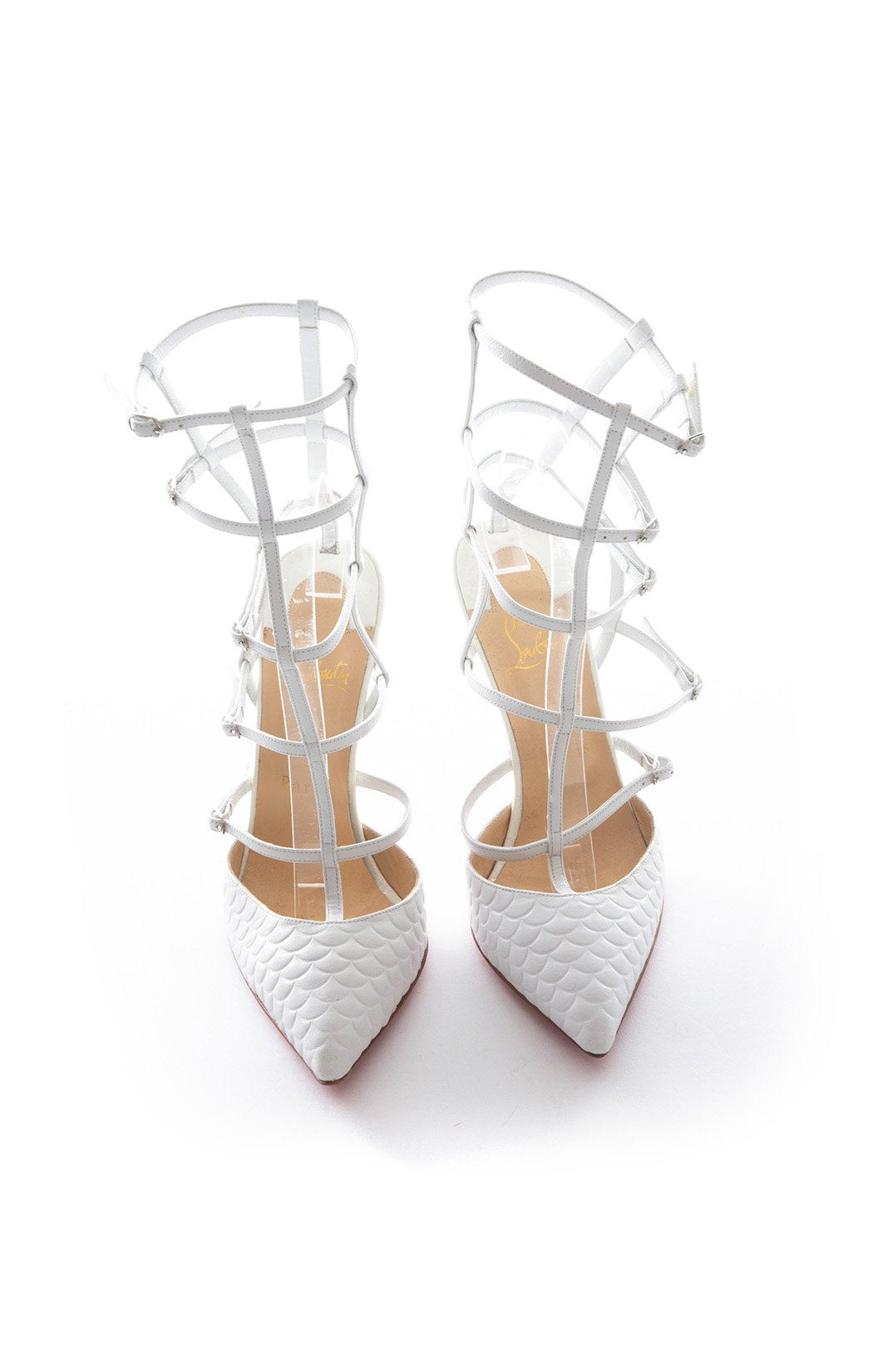 Front view of CHRISTIAN LOUBOUTIN Pump Size: 8