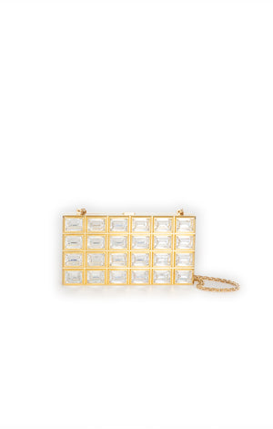 Back view of JUDITH LEIBER  Clutch